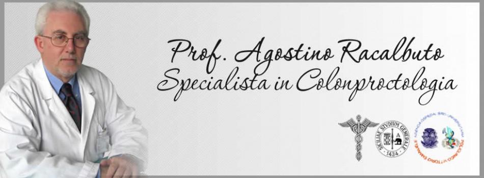 Prof. Agostino Racalbuto -Specialista in Colonproctologia-